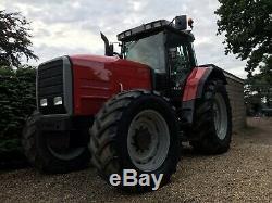 Massey ferguson 8150 tractor 4x4 180hp NO VAT