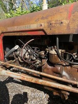 Massey ferguson FE35 tractor (Grey /Gold) 1957