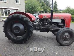 Massey ferguson mf 35 mf35 tractor 1959 petrol tvo live drive not 35x or 3 cyl