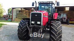 Massey ferguson tractor 8170 250hp 3900 hours/ full powershift jd new holland