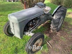 Massey ferguson tractor TVO TED20 1954