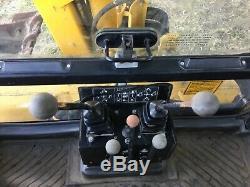 Massey ferguson tractor jcb excavator digger not 360 980 hours super mf 50 H