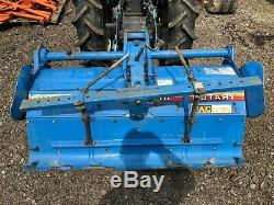 Mitsubishi 1.3 meter Rotavator for compact tractor, massey ferguson ford case