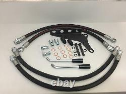 NEW Dual Hydraulic Remote KITMassey Ferguson MF 135 150 230 231 240 245 250 253