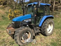 New Holland TS90 4wd tractor, Ford Not John Deere, Massey Ferguson, Case Tractor