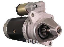 New Starter Fits Massey Ferguson Perkins MF35 MF50 MF65 MF135 3539389M91 17639
