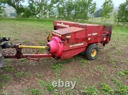 New holland 376 conventional hay baler, welger, massey ferguson, john deere, cla