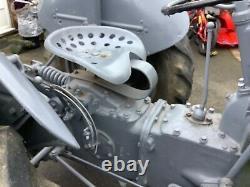 Old Vintage Grey Fergy Massey Ferguson Petrol Tvo TED 1951