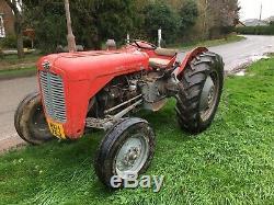 Original Massey Ferguson 35 Diesel Vintage Tractor Fergie Unmolested