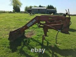 Original Massey Ferguson MF80 Front Loader with Weight and Fork
