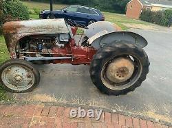 Petrol Paraffin Ferguson Ted tractor 1950 Grey Fergie