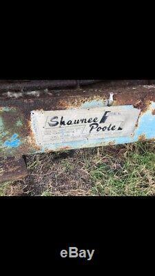 Shawnee Poole Dump Trailer For John Deere, Massey Ferguson Or Ford Tractor