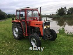 Tafe Tractor 35di Like Massey Ferguson Year 2008 Power Steering Plus Vat Scraper