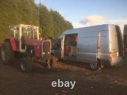 Used massey ferguson farm tractors