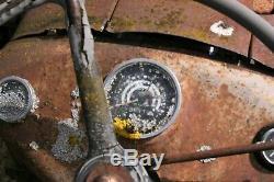 Vintage Barnyard Massey Ferguson 35, Registration Included. 4 Cylinder Engine