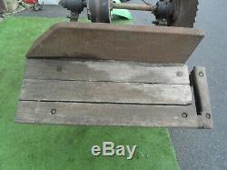 Vintage Massey FERGUSON Tractor Saw Bench, Flat Belt