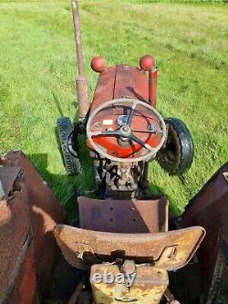 Vintage Massey Ferguson 35X Tractor Collectable Farm Machinery Barn Find