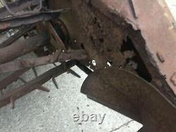 Vintage Massey Ferguson Land Drive Muck Spreader No VAT All Original & Complete