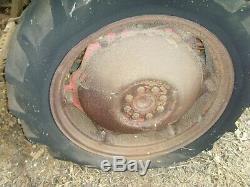 Vintage Massey Ferguson Tractor TE-20 P3 Perkins Diesel Engine Barn Find