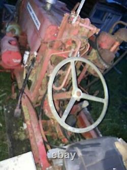 Vintage Tractor Very Unusual