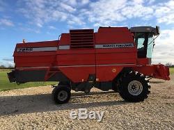 Year 2001 Massey Ferguson 7252 Combine Harvester